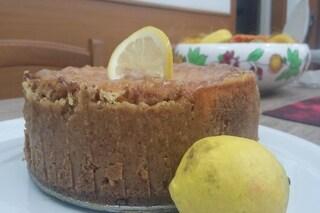 Cheesecake al limone: la ricetta cotta in forno