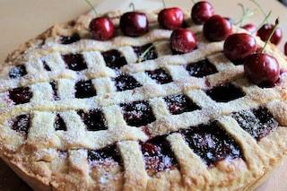 Crostata di ciliegie fresche: la ricetta facile