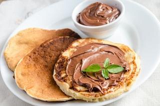 Pancakes alla nutella: la ricetta per prepararli soffici e golosi