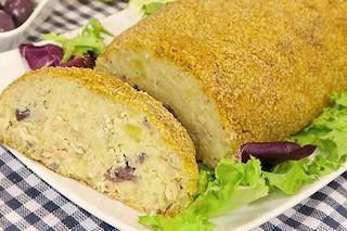 Polpettone di tonno e patate: la ricetta per un secondo piatto sfizioso e saporito