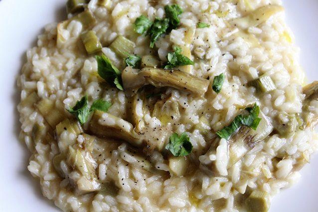 Risotto ai carciofi la ricetta di un primo piatto semplice for Ricette culinarie
