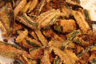 Zucchine al forno: la ricetta del contorno croccante e sfizioso