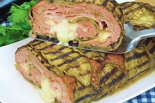 Rollè di carne e melanzane: la ricetta del secondo piatto ricco e gustoso