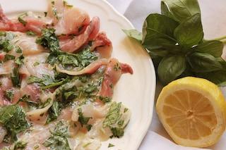 Carpaccio di pesce spada: la ricetta dell'antipasto di pesce leggero