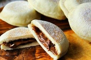 Focaccine alla nutella in padella: la ricetta veloce senza forno