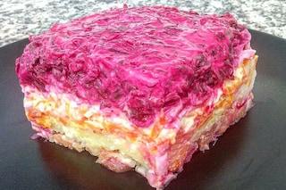 Insalata shuba: la ricetta del tipico antipasto russo in pelliccia