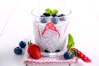 Budino ai semi di chia: la ricetta del chia pudding facile e veloce da preparare