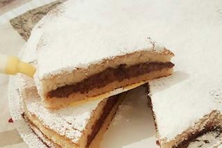 Torta yogurt e nutella: la ricetta del dolce soffice e goloso