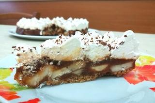 Banoffee Pie: la ricetta originale del dessert a base di banana