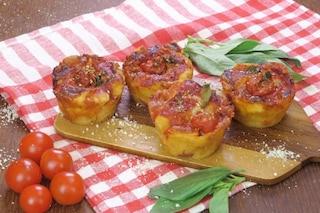 Muffin di pizza: la ricetta dell'antipasto semplice e originale