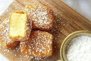 Crema fritta: la ricetta per prepararla golosa e dorata