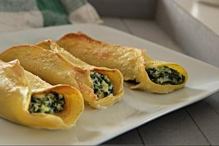 Crepes ricotta e spinaci: la ricetta di un piatto unico gustoso