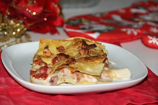 Lasagne ai frutti di mare: la ricetta del primo piatto delle feste