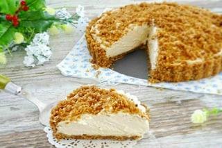 Sbriciolata al cocco: la ricetta del dolce fresco e goloso senza cottura