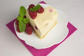 Cuore di cheesecake: la ricetta del dolce goloso e romantico facile da preparare