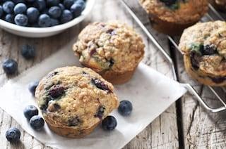 Muffin ai mirtilli: la ricetta dei dolcetti americani irresistibili
