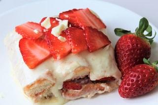Tiramisù alle fragole e cioccolato bianco: la ricetta semplice ed originale