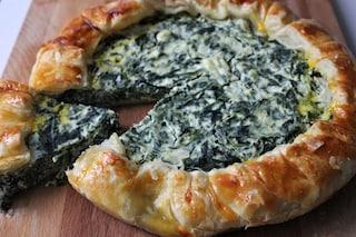 Torta salata ricotta e spinaci: la ricetta rustica sfiziosa