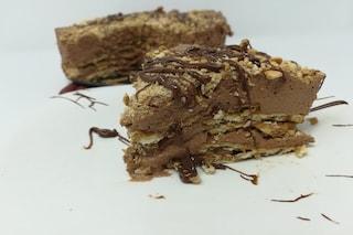 Torta fredda con nutella e biscotti: la ricetta perfetta per un dolce golosissimo