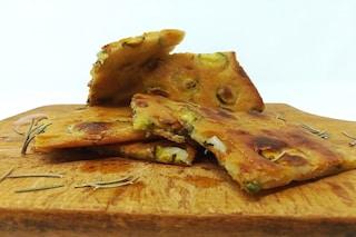 Schiacciata di zucchine: la ricetta semplice e veloce