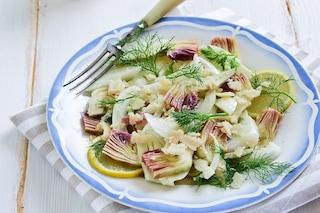 Insalata di carciofi: la ricetta del contorno primaverile leggero e stuzzicante