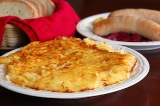 Frico con patate e cipolla: la ricetta originale del piatto friulano ricco di sapore