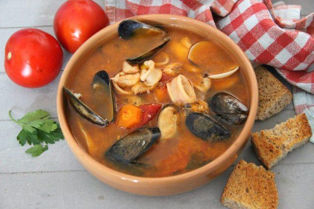Zuppa Di Pesce La Ricetta Semplice