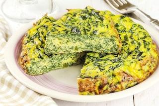 Frittata di spinaci: la ricetta del secondo piatto semplice e squisito