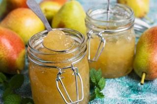 Marmellata di pere: la ricetta della confettura fatta in casa con poco zucchero aggiunto