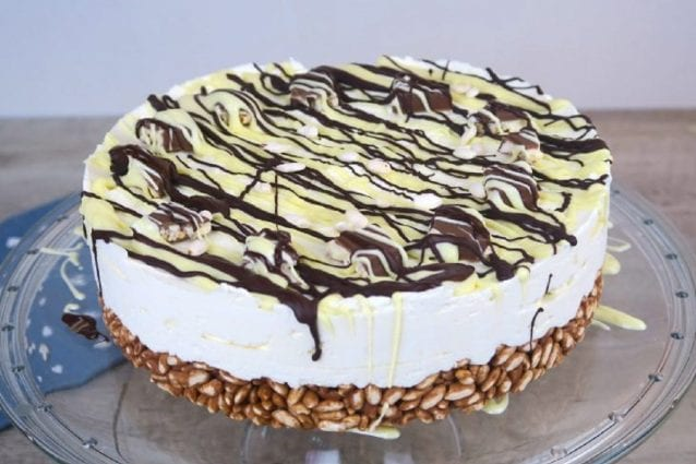 cheesecake cioccolato e cereali