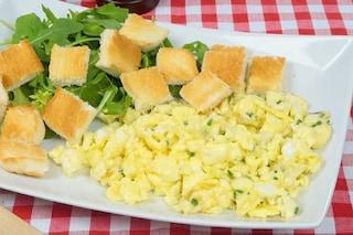 Uova strapazzate: la ricetta per farle perfette
