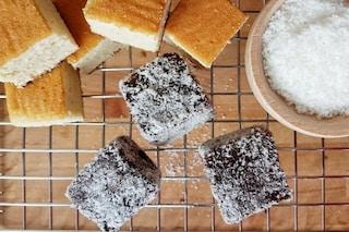 Lamingtons: la ricetta tradizionale dei dolci al cocco australiani