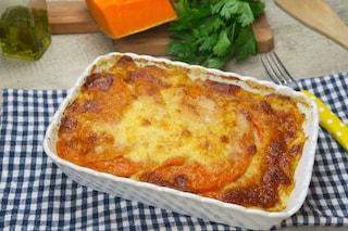 Zucca gratinata: la ricetta per un contorno veloce e saporito