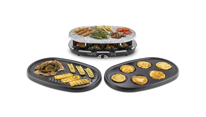 raclette grill Klarstein All-U-Can Grill 4-in-1