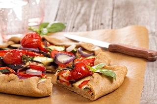 Torta salata con ratatouille: la ricetta del rustico alla francese