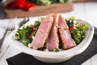 Tonno alla griglia: la ricetta del secondo piatto leggero
