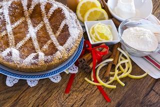 Pastiera al limone: la ricetta della torta tradizionale al profumo di agrumi