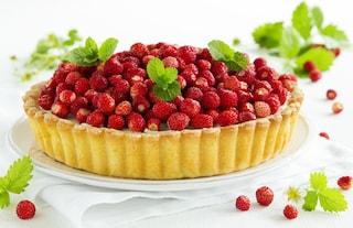 Crostata con fragoline e crema al mascarpone: la ricetta del dolce fresco