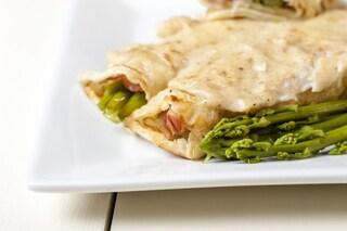 Crepes agli asparagi: la ricetta del primo piatto sfizioso e saporito