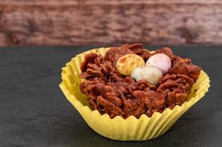Nidi di cioccolato: la ricetta dei dolcetti sfiziosi ai cereali