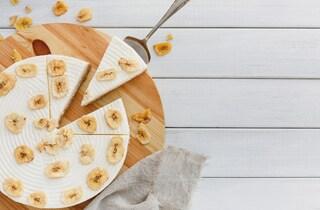 Cheesecake alla banana: la ricetta della torta fredda sfiziosa