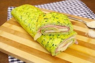 Rotolo di zucchine: la ricetta facilissima e gustosa con prosciutto cotto