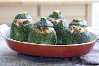 Zucchine tonde ripiene all'ortolana: la ricetta del secondo per tutte le occasioni
