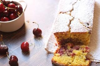 Plumcake alle ciliegie: la ricetta con consigli