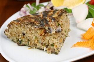 Tiella riso ed alici: la ricetta della taieddhra al forno della tradizione pugliese