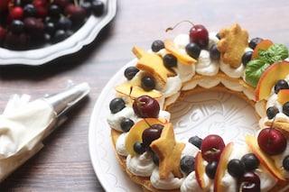 Cream Tart: la ricetta della torta scenografica