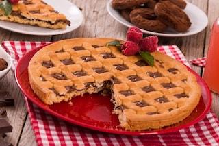 Crostata alla Nutella Bimby: la ricetta facile e veloce con il ripieno morbido