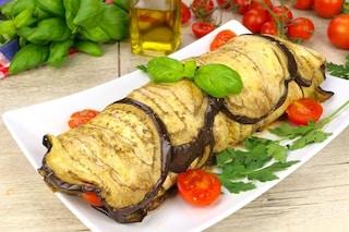 Rotolo di melanzane: la ricetta sfiziosa al forno