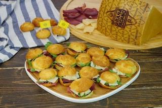Bignè salati al Grana Padano DOP