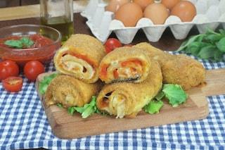 Rotolini alla pizzaiola: la ricetta per prepararli croccanti e filanti in poco tempo